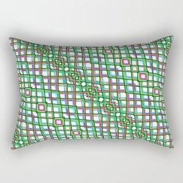 Fish Scale Green - Mandala Premium Series 005 Rectangular Pillow