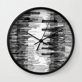 Polyline Distortion Wall Clock