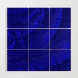 Renaissance Blue Wood Wall Art