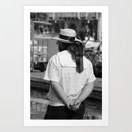 People of Venice   Italy   Photography   Art print   Photo print Art Print