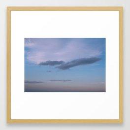 Bird in the Clouds Framed Art Print