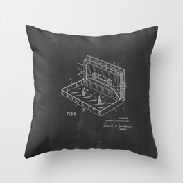 Storage Case for a Tape Cartridge Patent Throw Pillow
