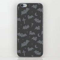 bats iPhone & iPod Skins featuring Bats by Sil Elorduy