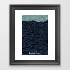 La Mer - Debussy Framed Art Print