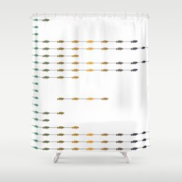 Fishettes Shower Curtain