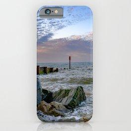 Cart Gap Beach, Norfolk iPhone Case