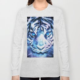 White Tiger | Snow Tiger | Tiger Face | Space Tiger Long Sleeve T-shirt