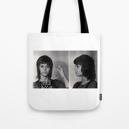 Jane Fonda Mugshot Tote Bag