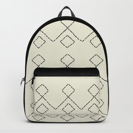 Embroided pattern Backpack