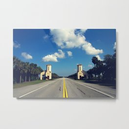 Your Adventure Awaits Metal Print