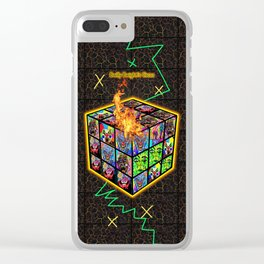 Let The Games Begin Clear iPhone Case
