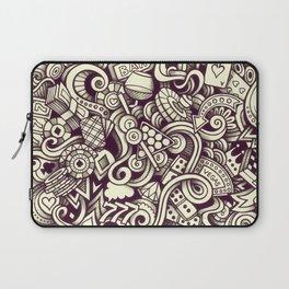 casino doodle Laptop Sleeve