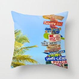 travel #society6 #decor #buyart #homedecor Throw Pillow