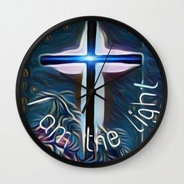 I am the light Wall Clock