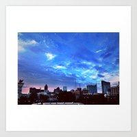 atlanta Art Prints featuring Atlanta.  by calvin./CHANCE