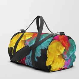 Multicolored ink in water Duffle Bag