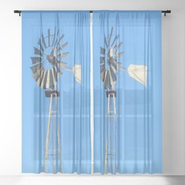 The Windmill Sheer Curtain