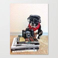 The Dog Photographer Canvas Print
