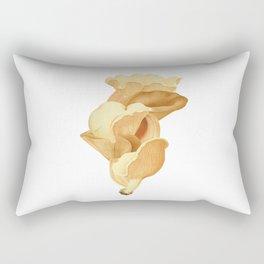 Elegant Mushrooms Rectangular Pillow