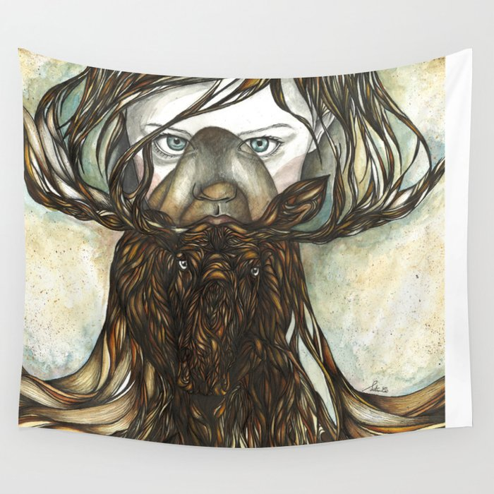 Roots II Wall Tapestry