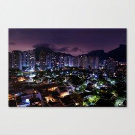 Purple Rio Canvas Print