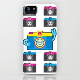 We are watching you. PEACE!!! iPhone Case