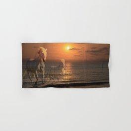 Sea Horses, Soul Mates, Running Horses, Spirits of the Sea Hand & Bath Towel