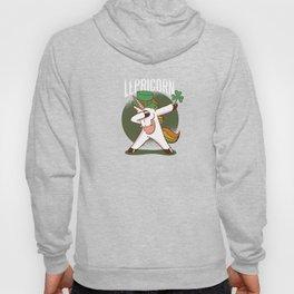 Lepricorn - Cute Unicorn Leprechaun print Hoody