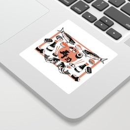 Sushi And Soy Sauce Sticker