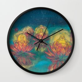 Buddhas Wall Clock