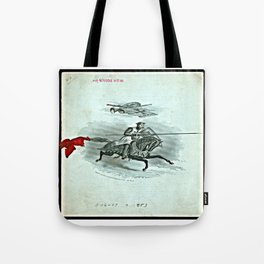 DINNER FOR BOSTON COMMANDERY, KNIGHTS TEMPLAR, AND LADIES - 1883 Tote Bag