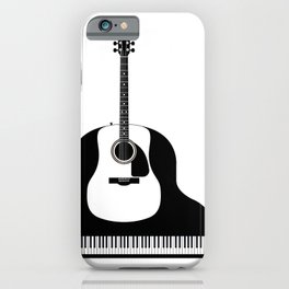 Piano and Guitar iPhone Case