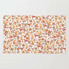 Fox Pattern Rug