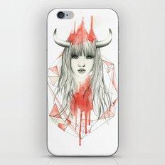 Zodiac - Taurus iPhone & iPod Skin