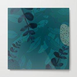 turquoise Metal Print