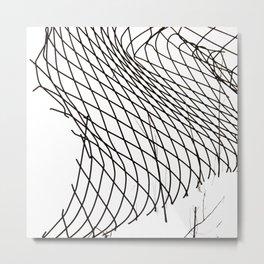 Lines & Curves #2 Metal Print