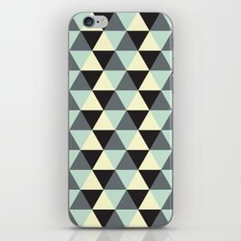 Geometric Pattern #174 iPhone Skin