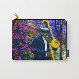 NEW ORLEANS JAZZ TROMBONE LET THE GOOD TIMES ROLL!! Carry-All Pouch
