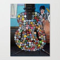 Beer Guitar Canvas Print