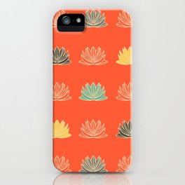 Asian fusion red iPhone Case