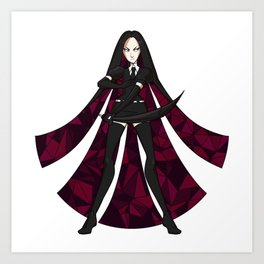 Bortz Sticker Art Print