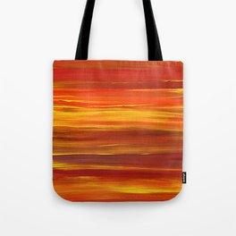 Sunset stratum Tote Bag