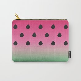 Watermelon Print Carry-All Pouch