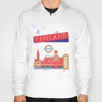 london Hoodies featuring LONDON by famenxt