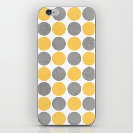 summer time dots iPhone Skin