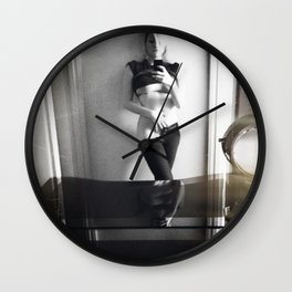 CAMRAFACE Wall Clock