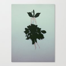 Leave. Canvas Print
