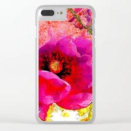summer feelings II Clear iPhone Case