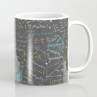 math Mugs featuring Math Lessons by robyriker