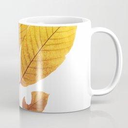 Dried walnut leaf Coffee Mug